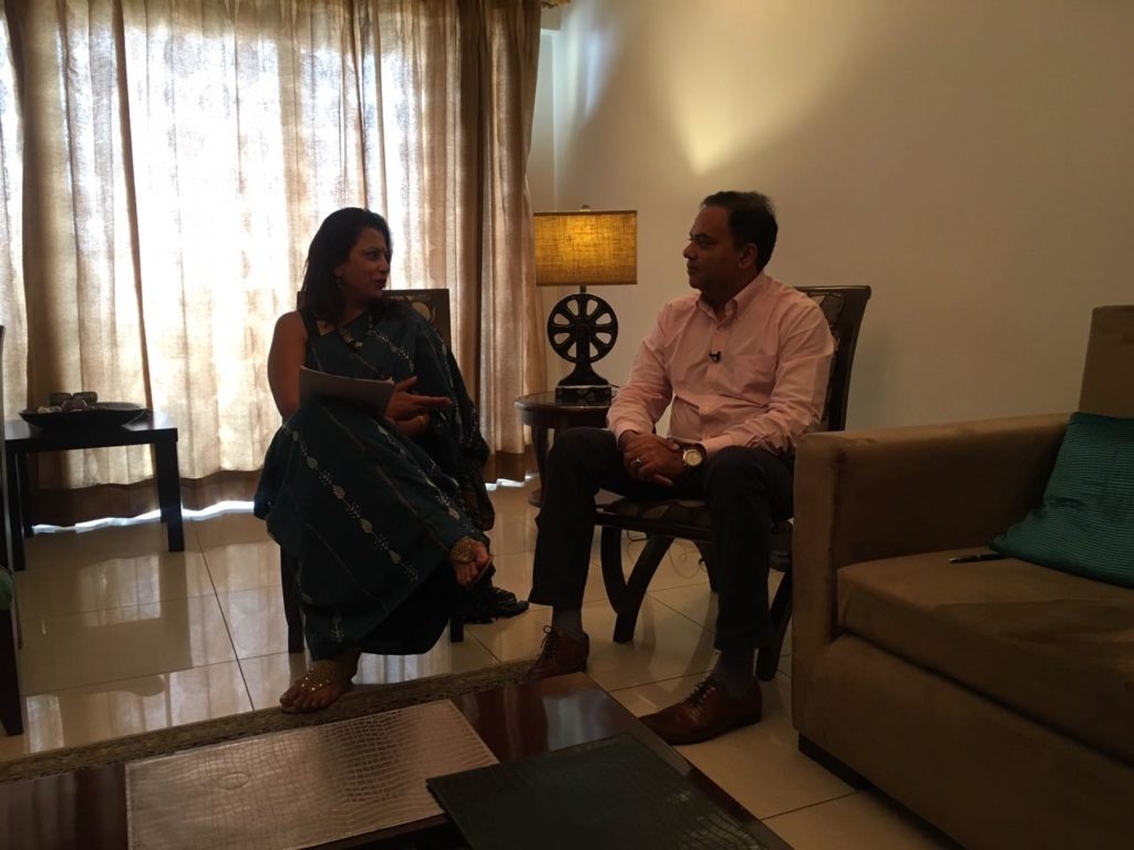 Interview With Anup Jain At His House In Gurgaon