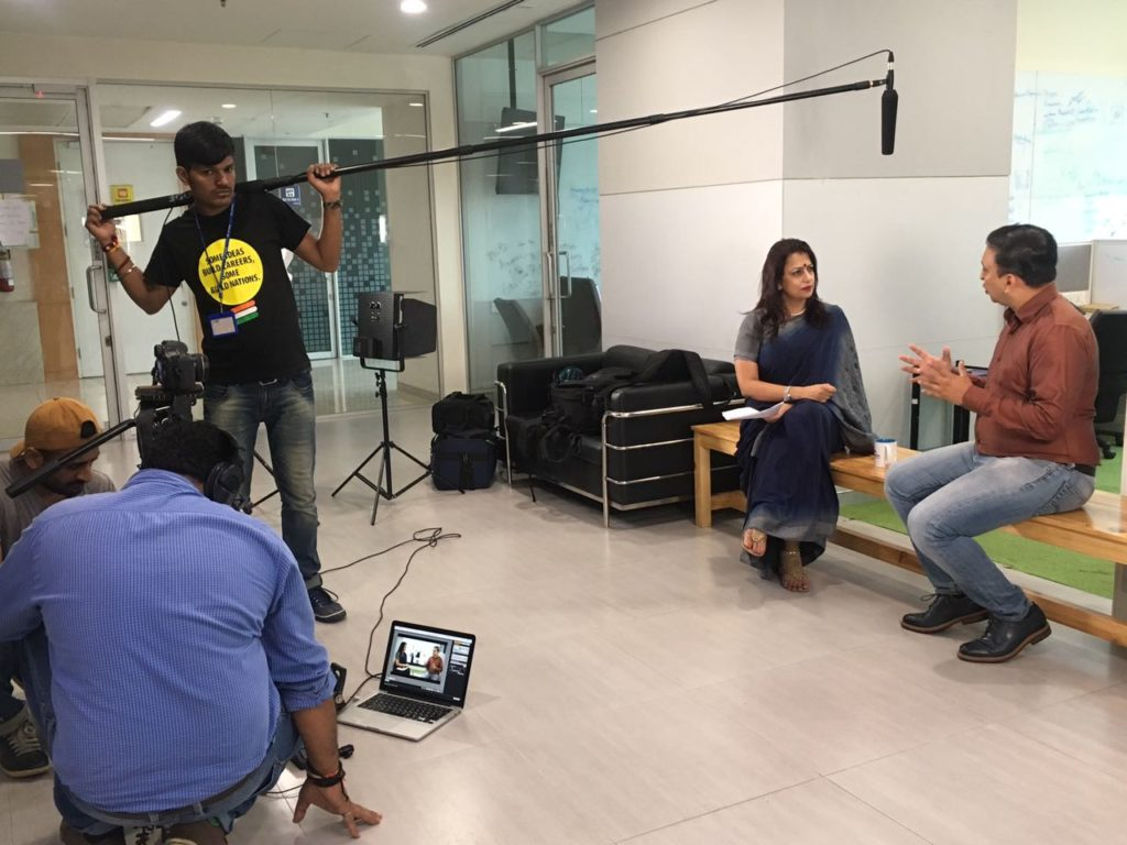 Interview with Apurva Chamaria at HCL Office in Noida